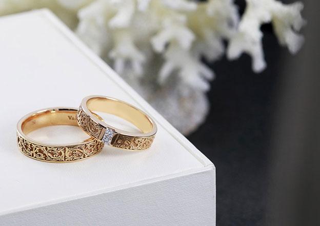 Model Cincin Kawin Batik, Cocok untuk Kamu dan Pasangan yang Suka Keunikan
