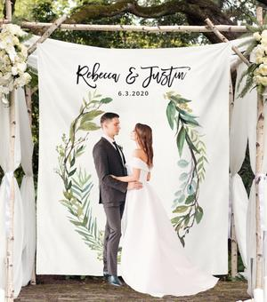 10 Contoh Backdrop Unik Inspirasi Pernikahanmu Vco