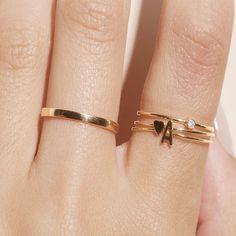 cincin emas inisial